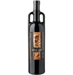 "Вино Dionysos Wines, ""Greek Art"" Red Semi-Sweet"